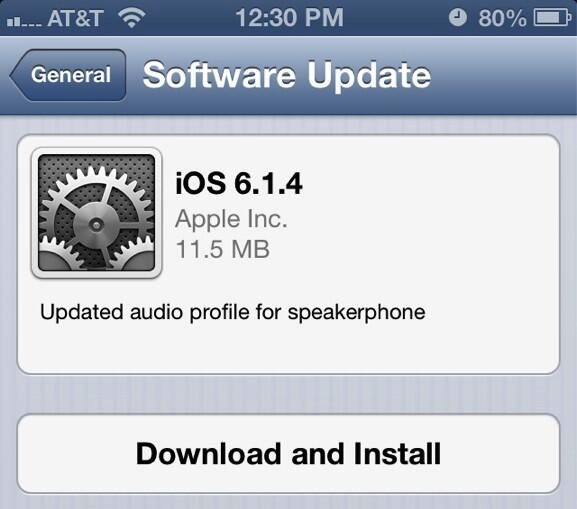 unexpectedly, released a new version of iOS this morning. The update