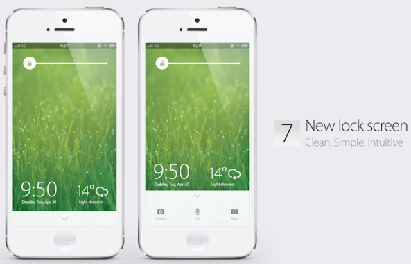iOS-7-concept-Simply-Zesty-Lock-screen